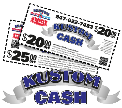 Let Kustom Heating & Cooling take care of your home's Furnace repair or replacement in Elgin IL area